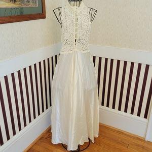 Victoria Secret Satin/Lace Lingerie Night Gown